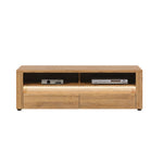 Sandy Tv Unit With LED lights in Grandson Oak Colour