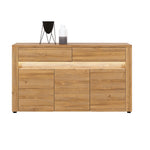 Sandy 3 -Door Sideboard With LED lights in Grandson Oak Colour