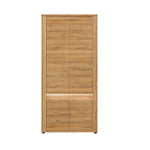 Sandy 2-Door Wardrobe With LED lights in Grandson Oak Colour