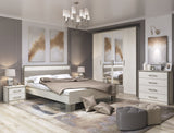 Sara 4 Door Wardrobe in Pino Aurelio & Nelson Colour