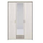 Sara 3 Door Wardrobe in Pino Aurelio & Nelson Colour