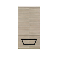 Tes 2-Door Wardrobe in Elm Matt Colour