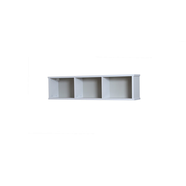 Jasper wall mounted shelf in light grey colour
