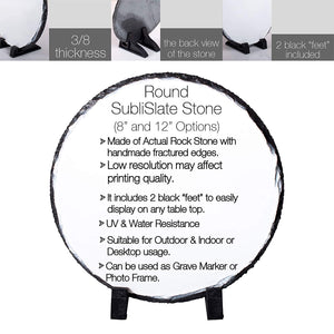 Memorial Colorful  Pet Stone D10