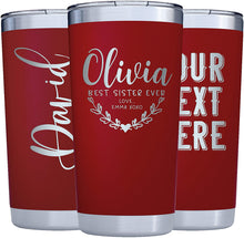 Load image into Gallery viewer, Red Tumbler 20 oz