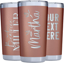 Load image into Gallery viewer, Tumbler 20 oz Rose Gold
