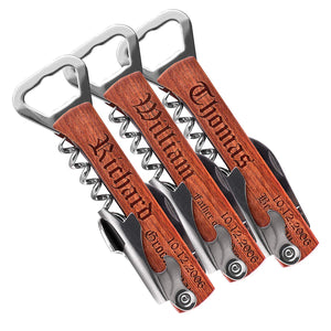Corkscrew and Multi-Tool (Set of 3)