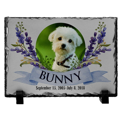 Memorial Colorful  Pet Stone D12