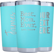 Load image into Gallery viewer, Tumbler 20 oz  Teal
