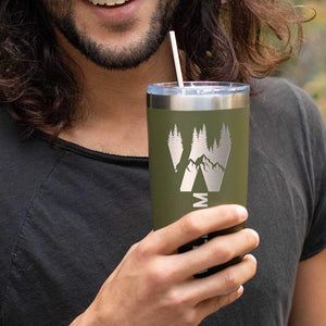 Tumbler 20 oz  Dark Green