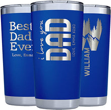 Load image into Gallery viewer, Tumbler 20 oz Navy
