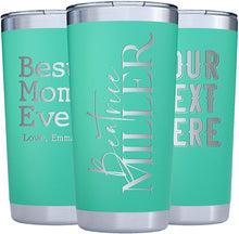 Load image into Gallery viewer, Tumbler 20 oz Light Green
