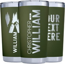 Load image into Gallery viewer, Tumbler 20 oz  Dark Green
