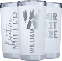 Load image into Gallery viewer, Tumbler 20 oz White