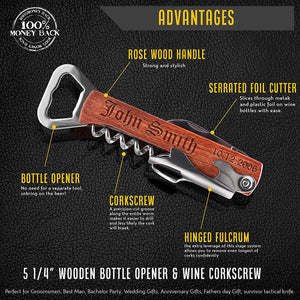 Corkscrew and Multi-Tool (Set of 6)