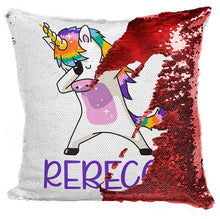 Load image into Gallery viewer, Sequin Pillow Case D10