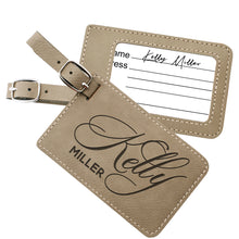 Load image into Gallery viewer, Luggage Tags Design 4
