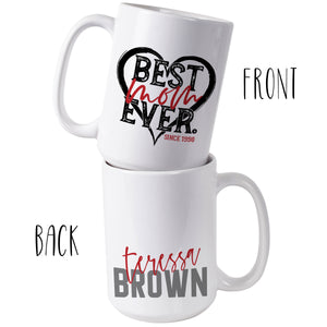 Personalized MOM Coffee Mugs D2