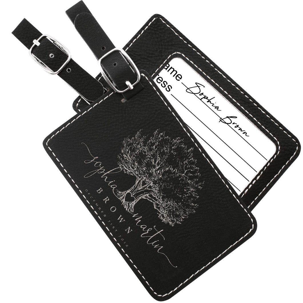 Luggage Tags Design 6