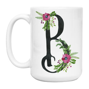Initial Coffee Mug  Design 2