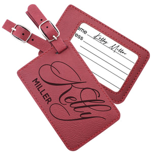 Luggage Tags Design 4