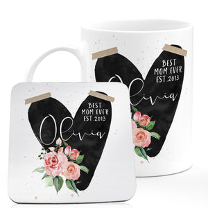 Personalized MOM Coffee Mugs D1