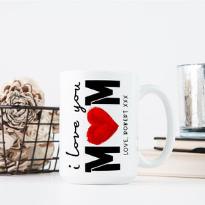 Personalized MOM Coffee Mugs D4