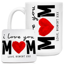 Load image into Gallery viewer, Personalized MOM Coffee Mugs D4