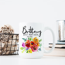 Load image into Gallery viewer, Personalized MOM Coffee Mugs D5