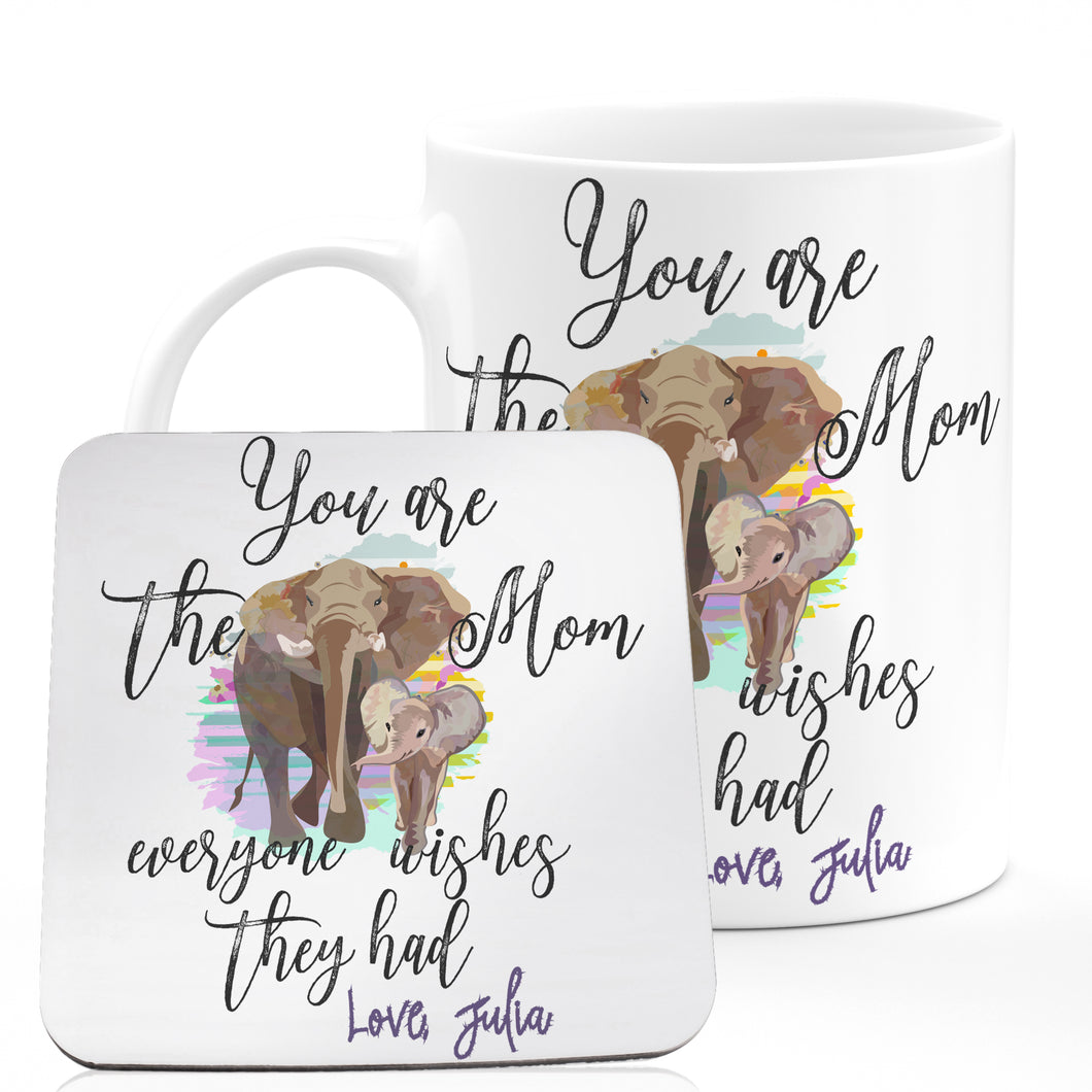 Personalized MOM Coffee Mugs D6