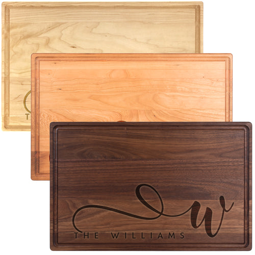 Wood Cutting Board LR D6