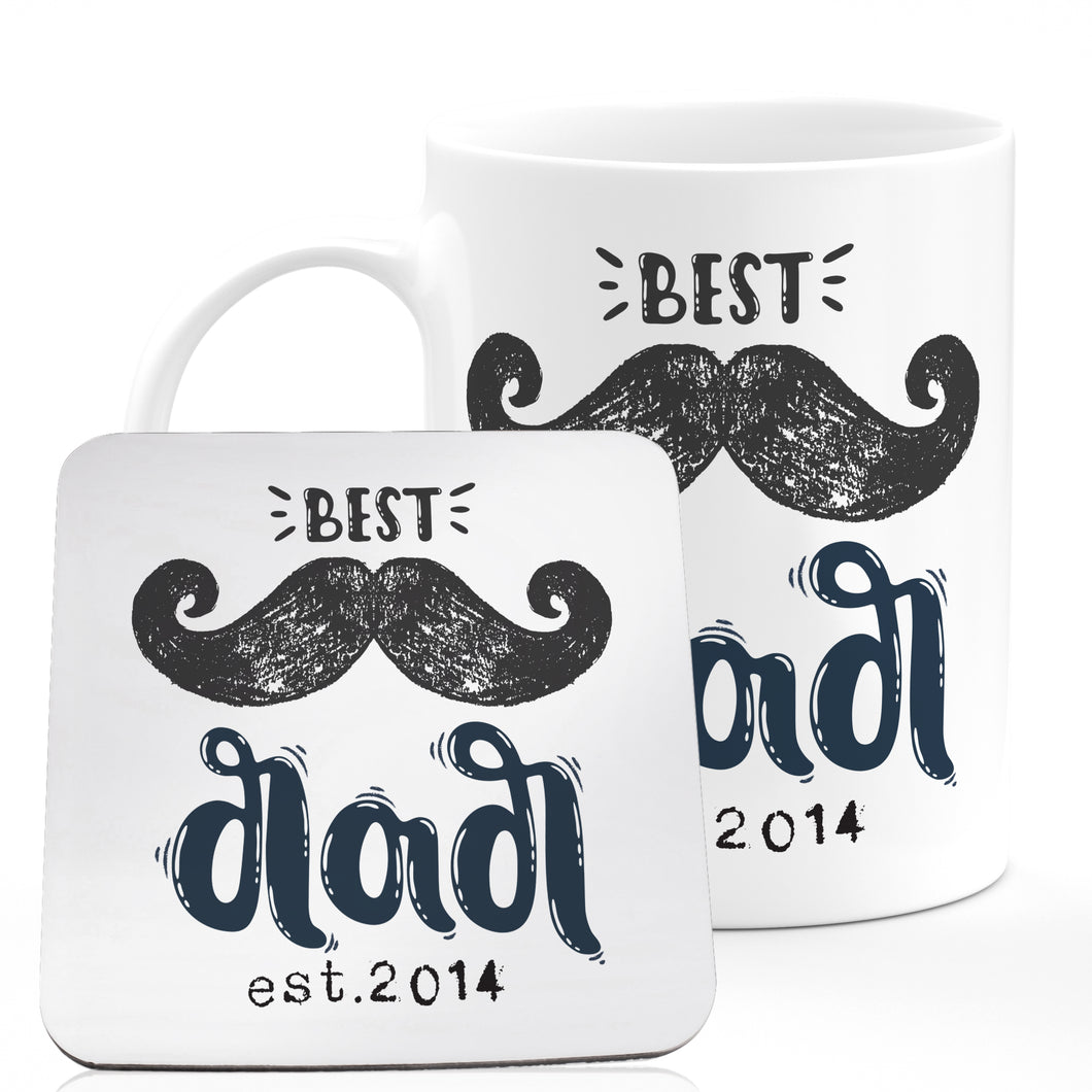 Personalized DAD 3 Coffee Mug