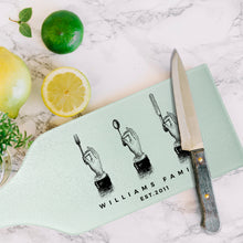 Load image into Gallery viewer, Cheese Glass Cutting Board Design 8
