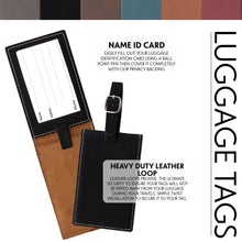 Load image into Gallery viewer, Luggage Tags Design 26