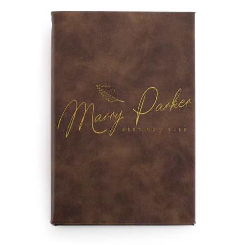 Leatherette Notebook  D5