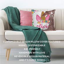 Load image into Gallery viewer, Sequin Pillow Case D1