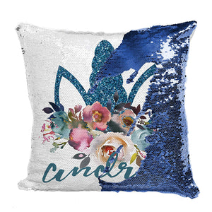 Sequin Pillow Case D6