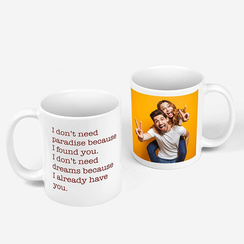Photo Mug Double Side
