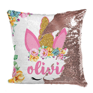 Sequin Pillow Case D1