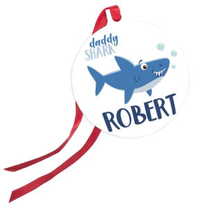 Christmas Ornaments Daddy Shark
