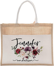 Load image into Gallery viewer, Tote bag  Cotton Canvas D4