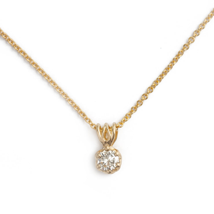 The Diamond Crown Pendant