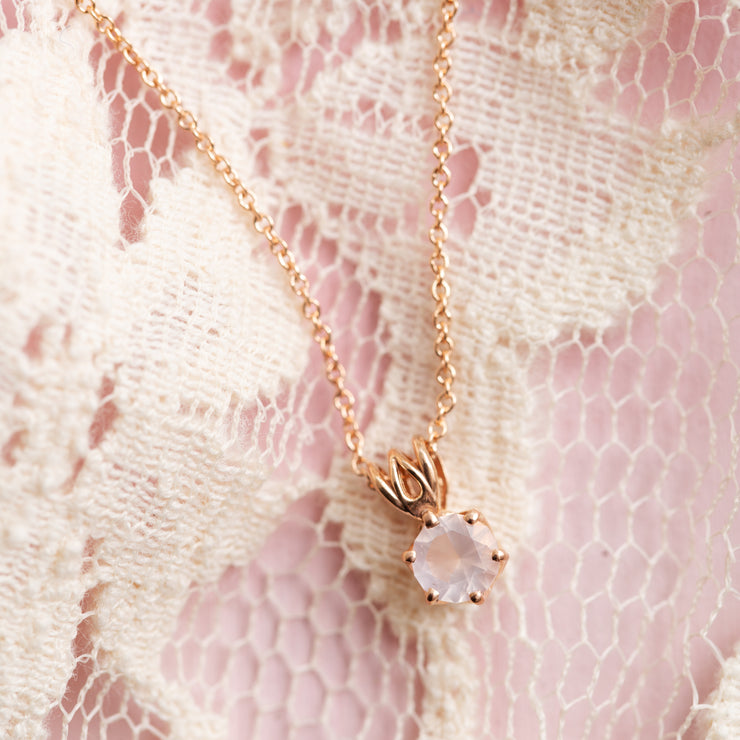 The Rose Quartz Pendant