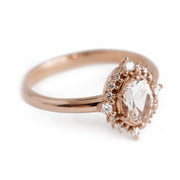 The Morganite Halo
