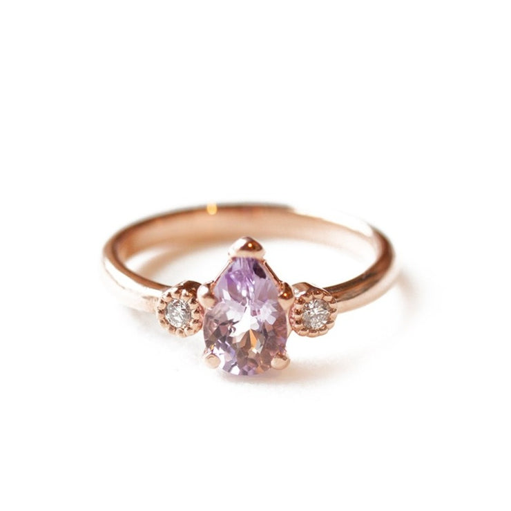The Amethyst Teardrop