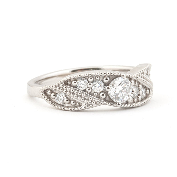 The Modern Vintage Cocktail Ring