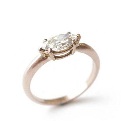 The Marquise Solitaire Ring