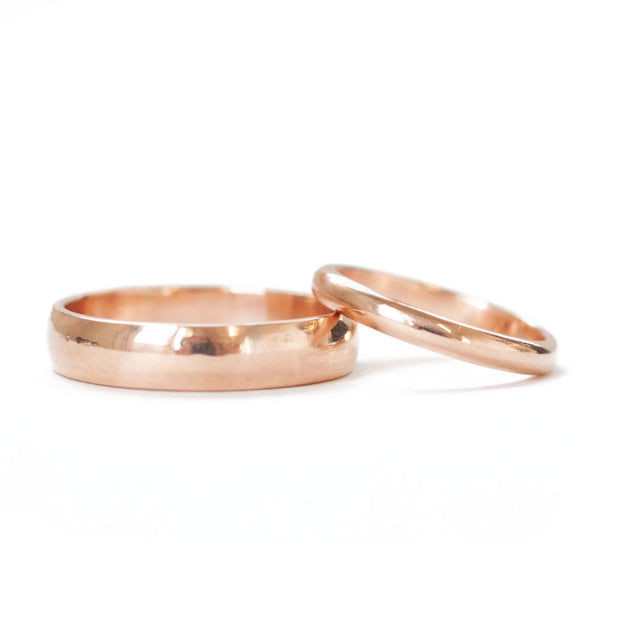Classic Rose Gold Band