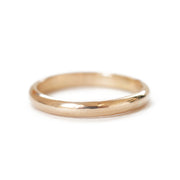 Classic Yellow Gold Band