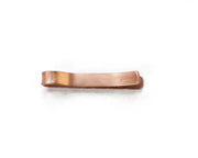 Tie Bar -- Hammered Copper